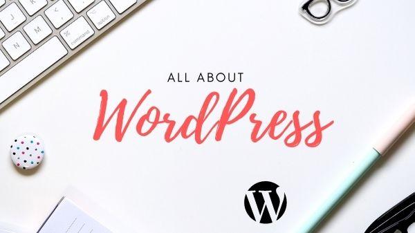 All About Wordpress website by Diel Gerber