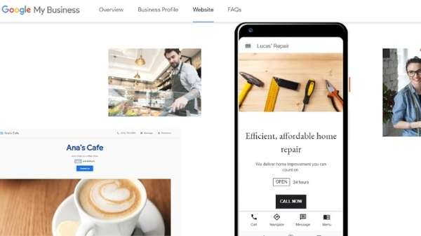 Set up a page on Google My Business