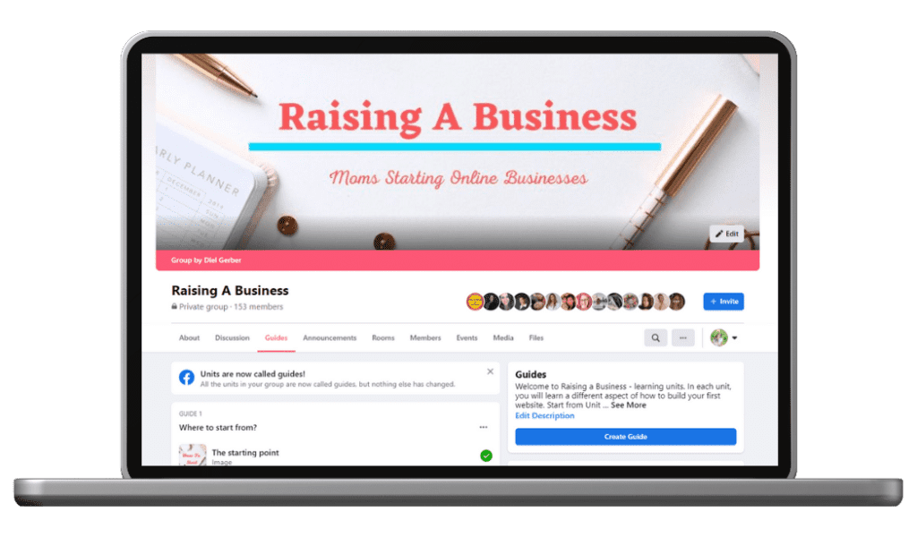 Raising a Business Facebook group